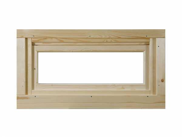 Kipp-Fenster für Gartenhaus Metz C naturbelassen