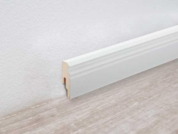 Sockelleiste Uni weiß glänzend 324 Dekor Profil 10 PK
