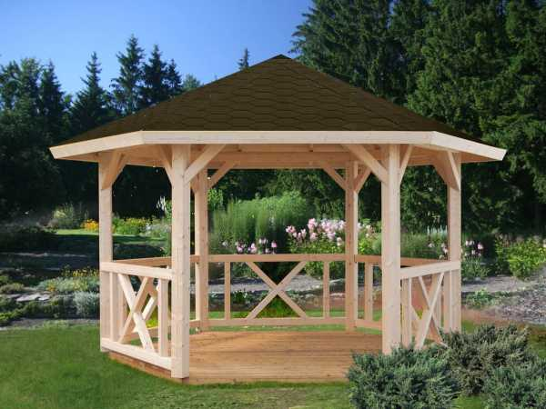 Pavillon Betty 9,9 m² naturbelassen