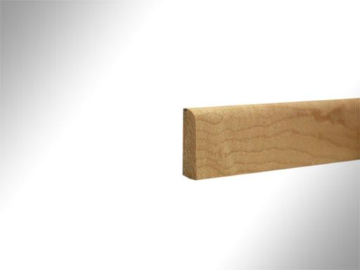 sockelleiste ahorn massiv lackiert profil 151 235739. Black Bedroom Furniture Sets. Home Design Ideas