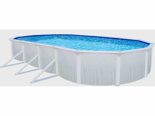 "Stahlwandpool ""Aruba"" oval 730 cm Basic Set"