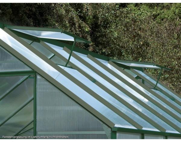"""Gewächshaus Zubehör """"Alu-Dachfenster"""" V/U/M/M, grün"""