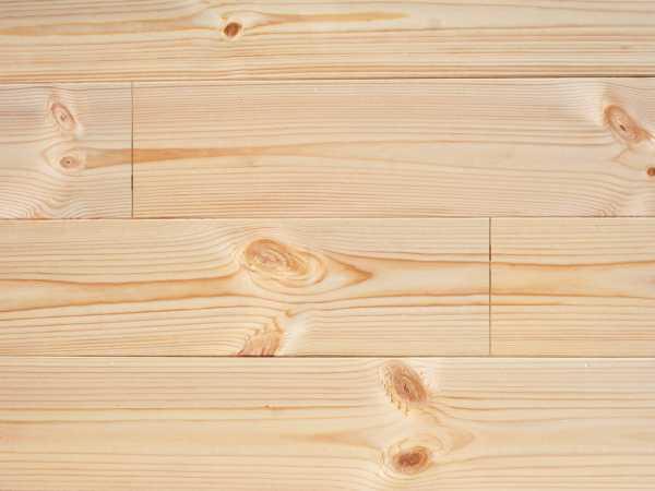 Massivholzdiele Nordische Kiefer Glatt Naturbelassen