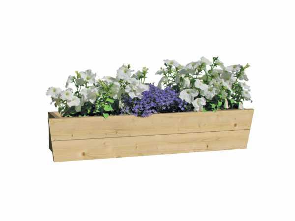 Blumenkasten für Gartenhaus Einzelfenster