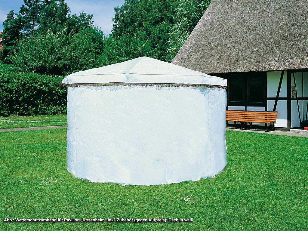 PROMADINO Wetterschutzumhang für Pavillon Rosenheim 370/30