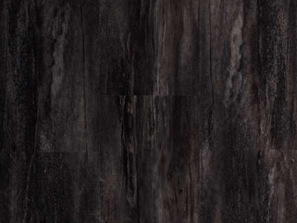 Vinylboden Anthrazit Steinoptik Fliese inkl. Trittschalldämmung
