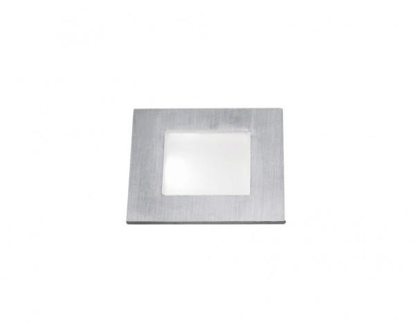 LED-Einbauleuchte FLAT mini 2er-Set Edelstahl 238