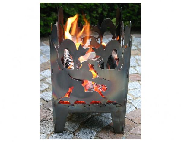 Feuerkorb KATZE L Stahl