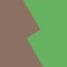 Braun / Grün