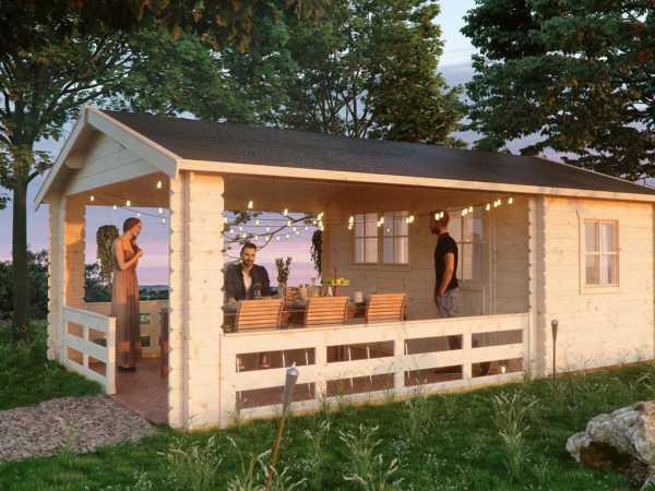 Gartenhaus Blockbohlenhaus \