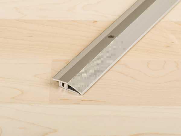 Anpassungsprofil PROCOVER Designfloor S Aluminium eloxiert Edelstahl