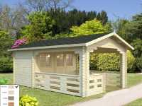 Gartenhaus Blockbohlenhaus