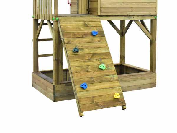 Kletterwand-Modul für Stelzenhäuser