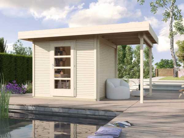 Gartenhaus Designhaus wekaLine 172 A Gr. 3 28 mm naturbelassen