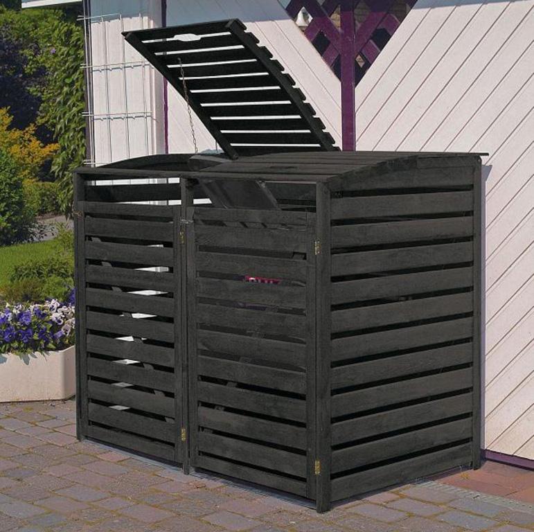 m lltonnenbox vario iii f r 2 tonnen anthrazit pr0293. Black Bedroom Furniture Sets. Home Design Ideas