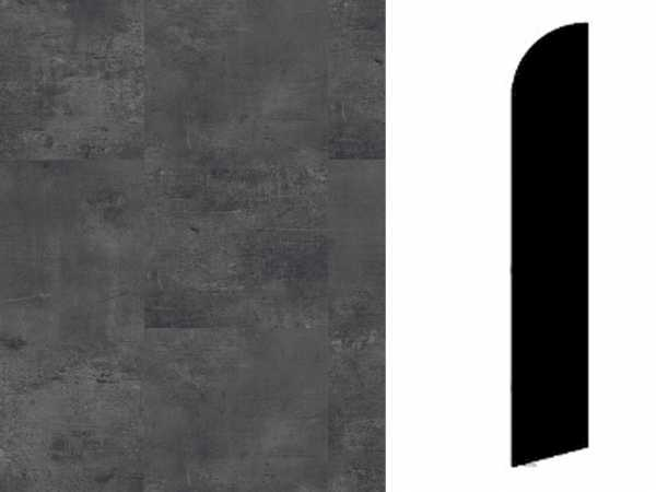 Sockelleiste Vintage Zinc Black Dekor