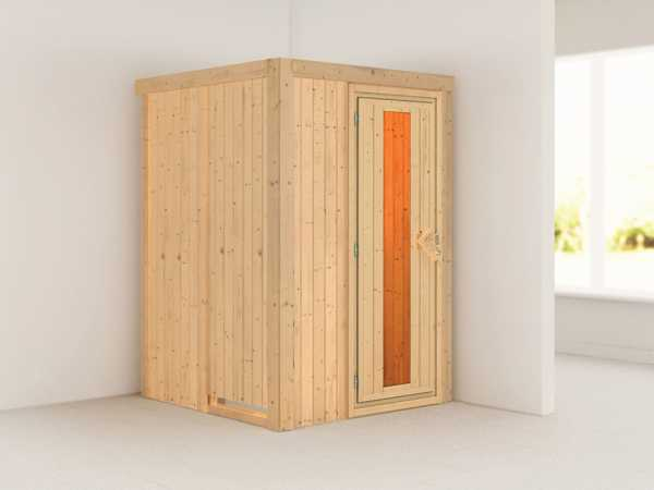 Sauna Systemsauna Lenja Energiespartür