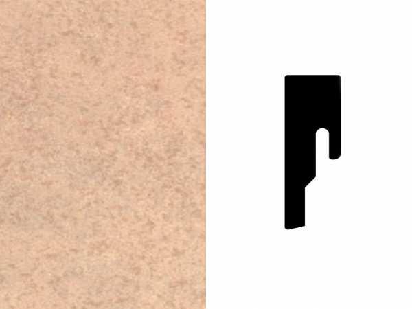 Sockelleiste Sandstein Dekor Profil 8 PK