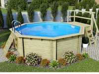 Pool Holzpool SET