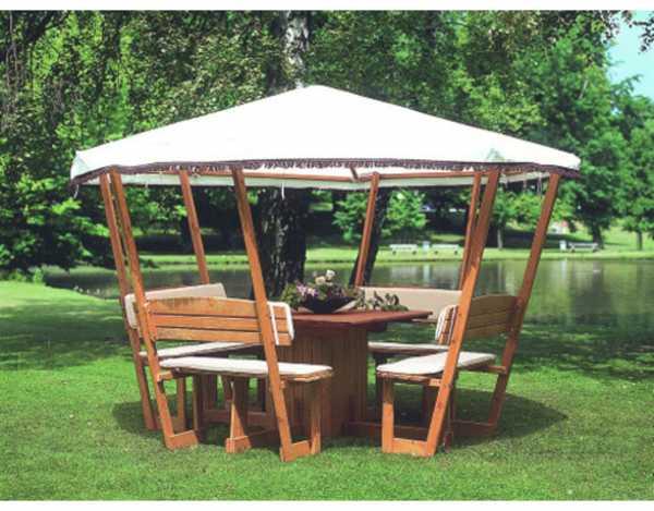 pavillon rosenheim inkl wei em dach pr0113. Black Bedroom Furniture Sets. Home Design Ideas