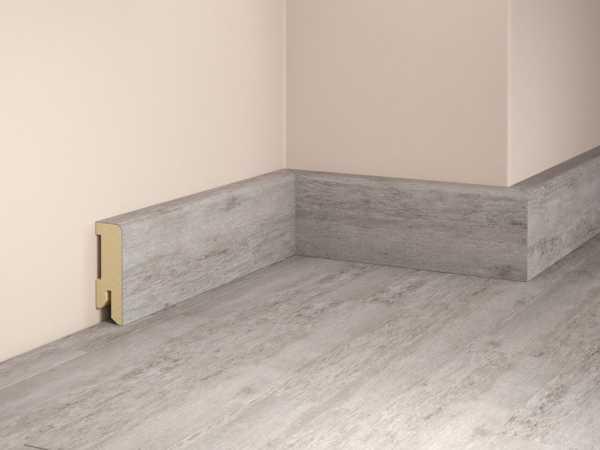 Sockelleiste SLC-516 Fichte Beton Dekorleiste