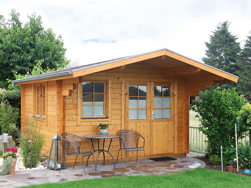 gartenhaus blockbohlenhaus nordkap 70 c xl 70 mm naturbelassen wf1359. Black Bedroom Furniture Sets. Home Design Ideas
