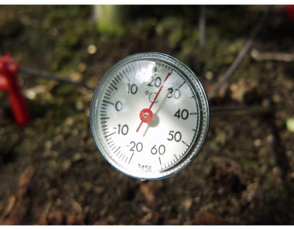Gewächshaus Zubehör Erdthermometer