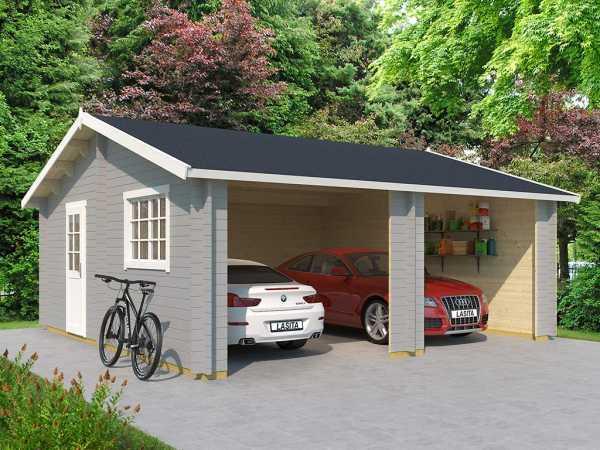Garage Falkland 44 mm lichtgrau