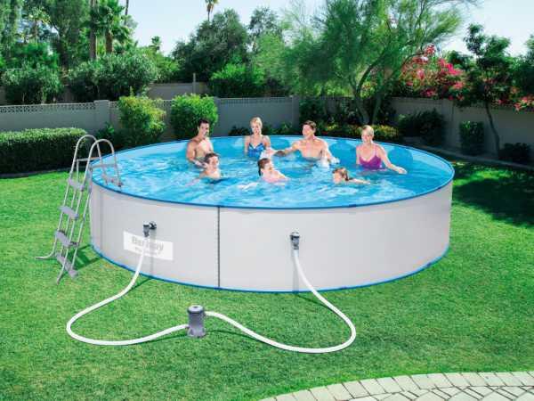 "Stahlwand Pool Hydrium ""Splasher"" Set"