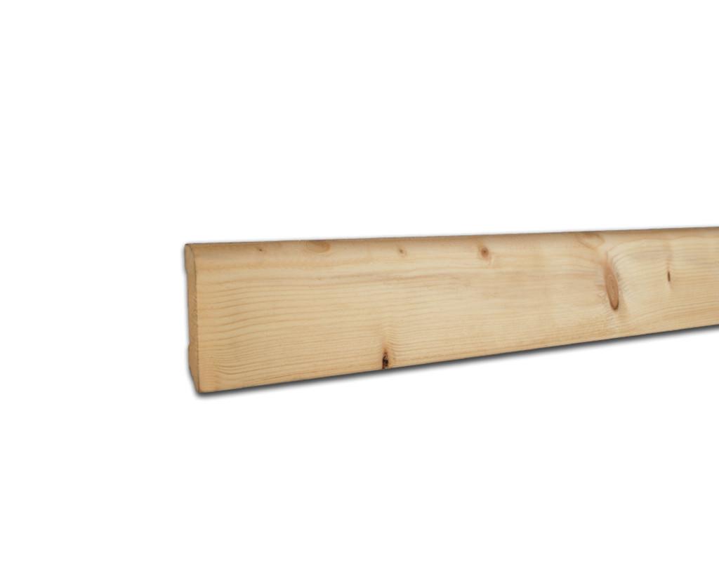 sockelleiste fichte astig massiv unbehandelt massivholz sockelleisten bodenbel ge. Black Bedroom Furniture Sets. Home Design Ideas
