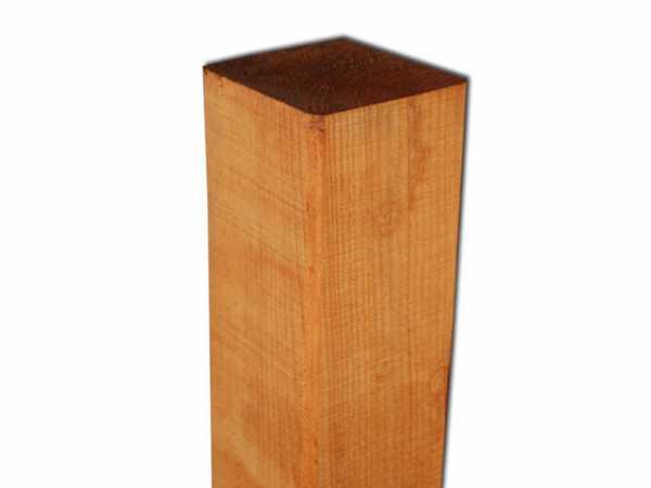 Pfosten Kiefer gehobelt honigfarben lasiert 180 cm