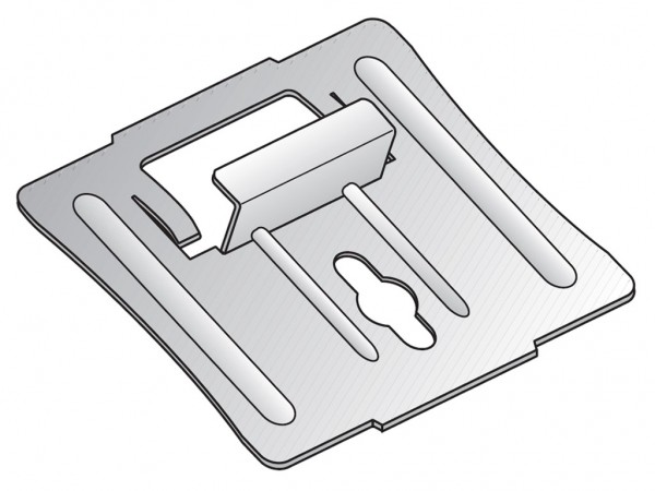 ClickBoard Mittelklammer für Metallunterkonstruktion