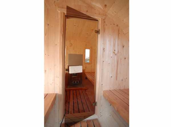 saunafass 400 de luxe thermoholz naturbelassen wf1201. Black Bedroom Furniture Sets. Home Design Ideas