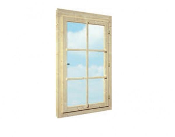 Einzelfenster (linkshand) 44 mm