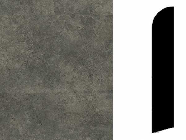 Sockelleiste Rock Black Dekor
