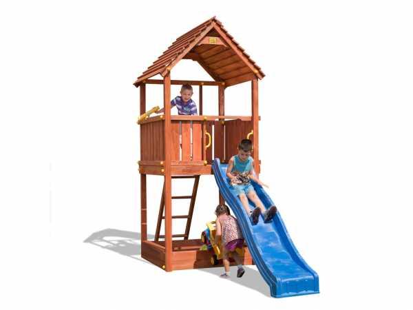 "Spielturm ""Joy"" teakfarben"