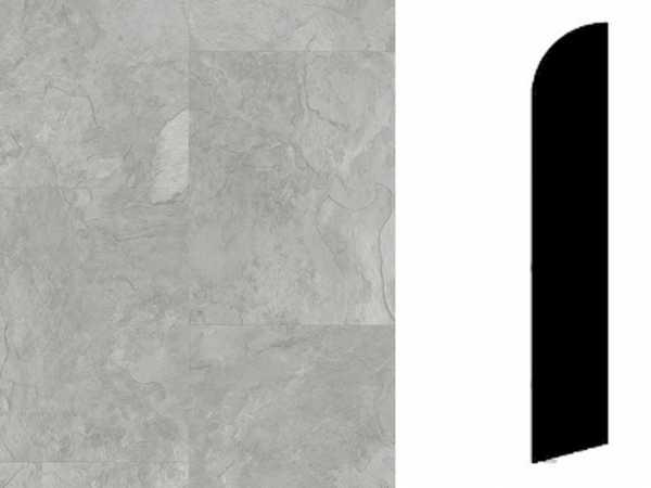 Sockelleiste Rustic Slate Grey Dekor
