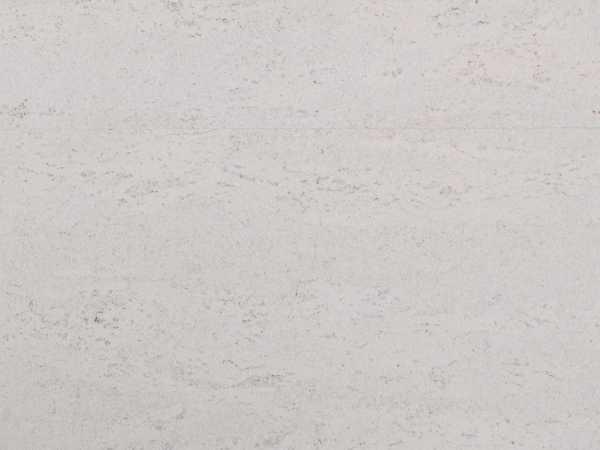 Korkboden weiß lackiert