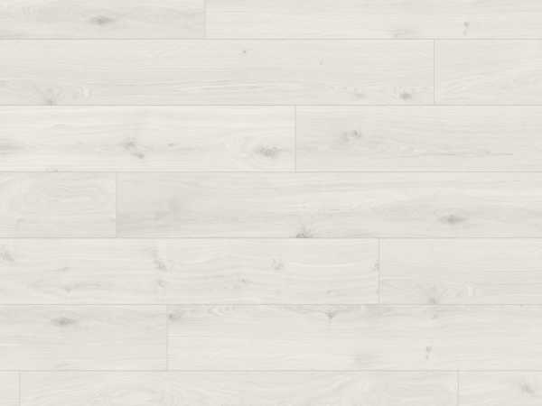 Laminat Eiche kristallweiß Holzstruktur Click'in Landhausdiele