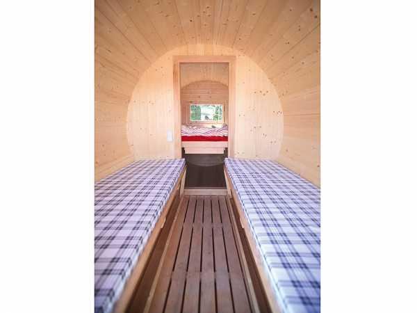 Matratze für Vorraum für Campingfass