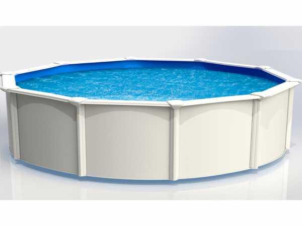 "Stahlwandpool ""Aruba"" rund 550 cm Standard Set"