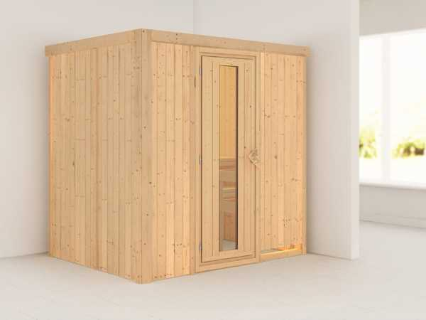 Sauna Systemsauna Fanja Energiespartür