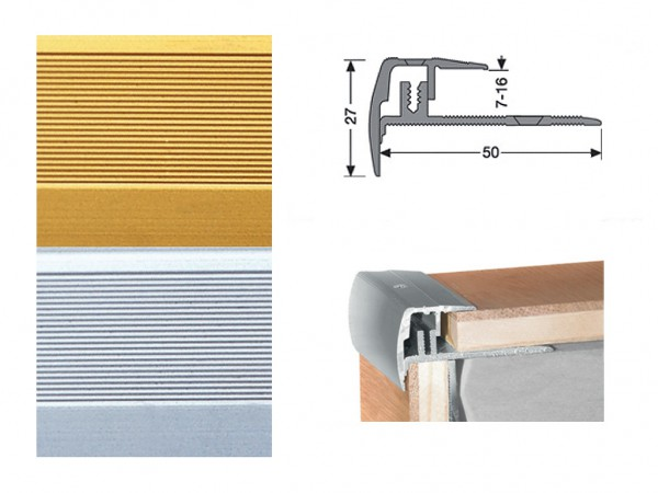 Treppenkantenprofil Typ 320