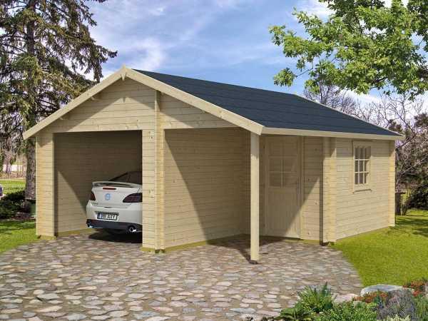 Garage Nevis Kit für Spiegelverkehrte Montage carbongrau