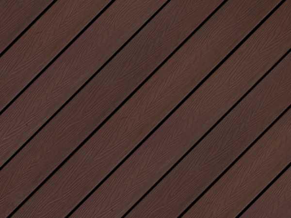 Terrassendiele WPC Comfy Braun