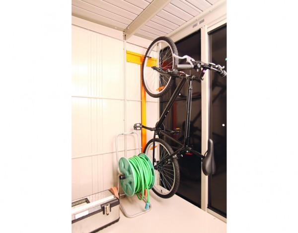 comfort line gartenhaus zubeh r fahrradhalter breit wf0991. Black Bedroom Furniture Sets. Home Design Ideas