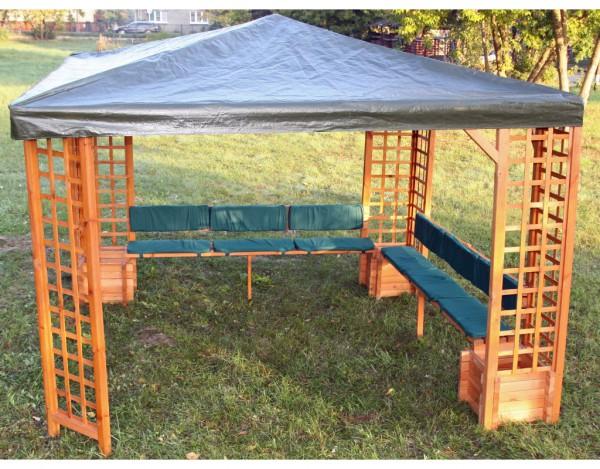 sitz r ckenauflagen f r pavillon mindelheim pr0456. Black Bedroom Furniture Sets. Home Design Ideas