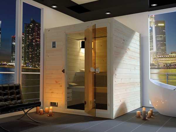 WE-Sauna Massiv. Valida 3 GTF, ohne Ofen