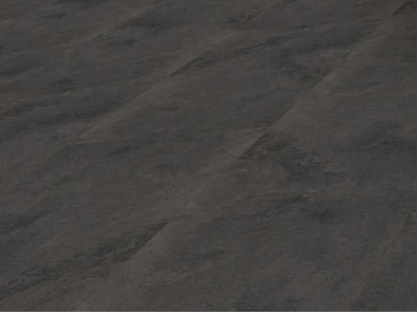 Vinylboden Schiefer dunkel Vinyl-Click auf HDF + Keramik Landhausdiele