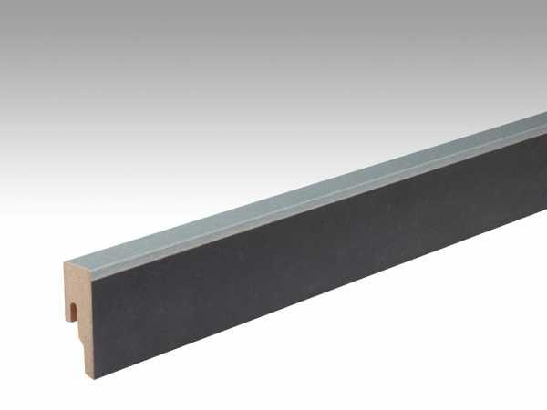 Sockelleiste Metallic anthrazit 6482 Dekor Profil 8 PK